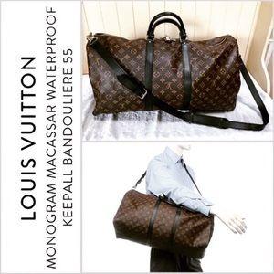 Handbags - Keepall 55 Monogram Macassar